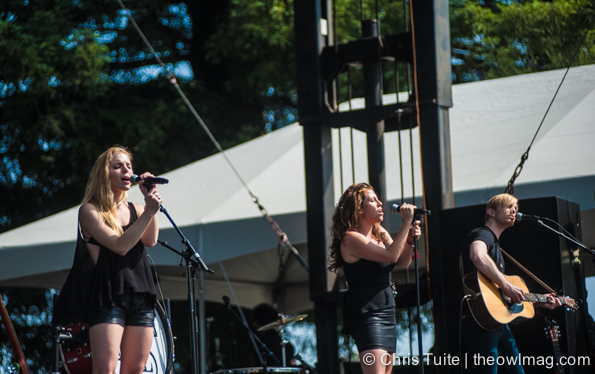Delta Rae @ BottleRock 2014, Friday