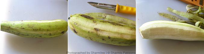 Raw Banana Chips Recipe - Step1