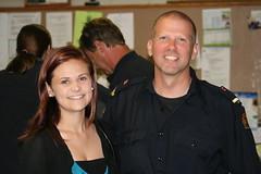 Sidney & Captain Somerville at Co-op Graduation