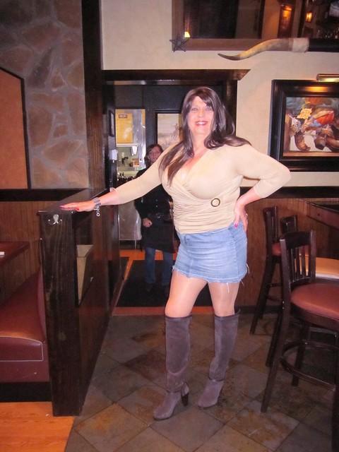 High Boots, Long Legs, Short Skirt