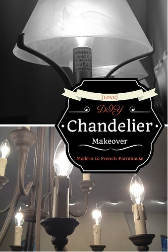 Chandelier redo archives a storybook life chandelier makeover aloadofball Images