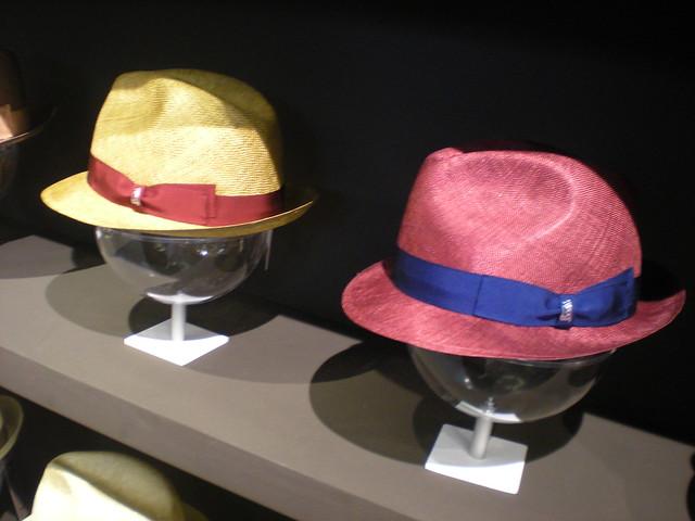 Tesi hats at Pitti 86
