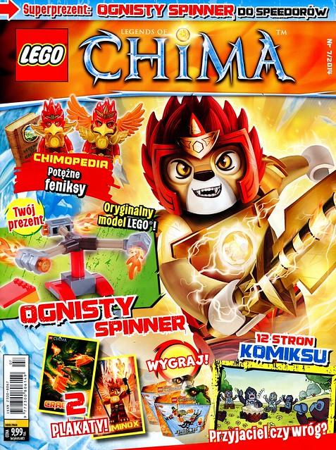 LEGO Legends of Chima Oficjalny Magazyn 2014-07 01
