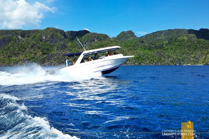 Speed Boat to Two Seasons Coron