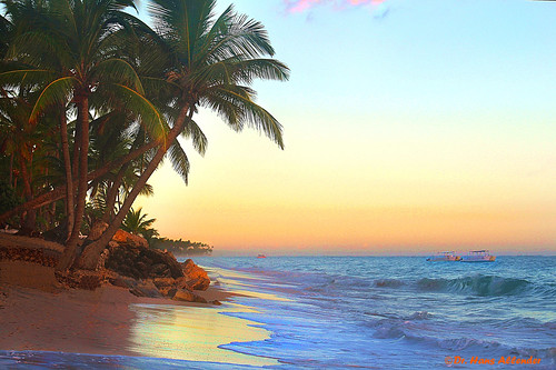 First eary light in paradise - Punta Cana, Dominican Requblic