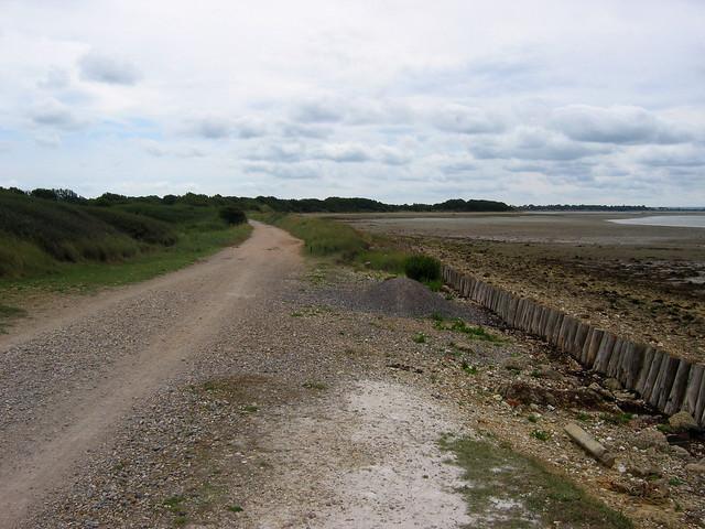 The Hayling Billy Trail near Stoke
