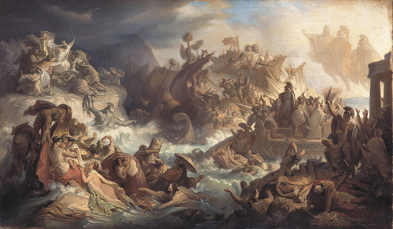 Battle of Salamis, by Wilhelm von Kaulbach