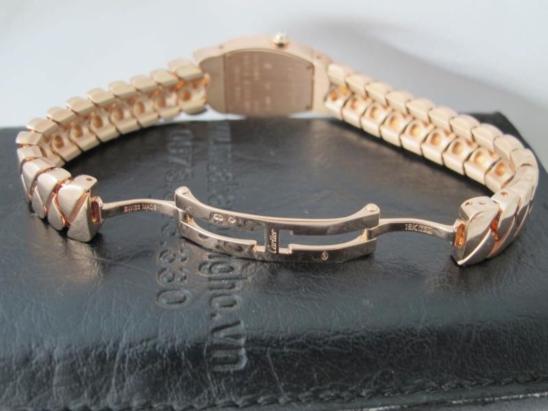 Bán đồng hồ cartier Nữ – dòng Ladona – vàng hồng 18k – size 25mm
