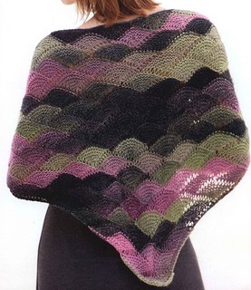 ❤😍👍 I loved this model of knit shawl simple and easy to do see step by step
