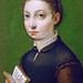 Sofonisba Anguissola - Self portrait with open book [1554] by petrus.agricola
