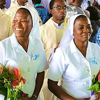 Congratulations to Beatrice Venyellu SSL and Juliet Ziem Yirkpeekuu SSL were received as full members of the St Louis family on the occasion of their final profession of vows at the Chaplaincy, St Louis College of Education, Kumasi, on Saturday, October 2