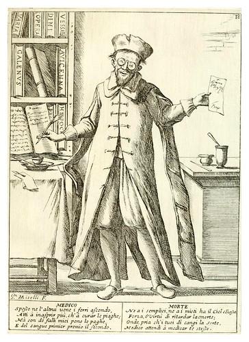 13- El medico- Le ventiqvattr' hore dell' hvmana felicità…-1675--Giuseppe M. Mitelli