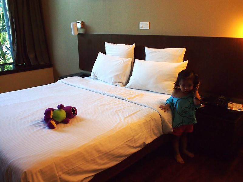 Family Staycation at Siloso Beach Resort, Sentosa