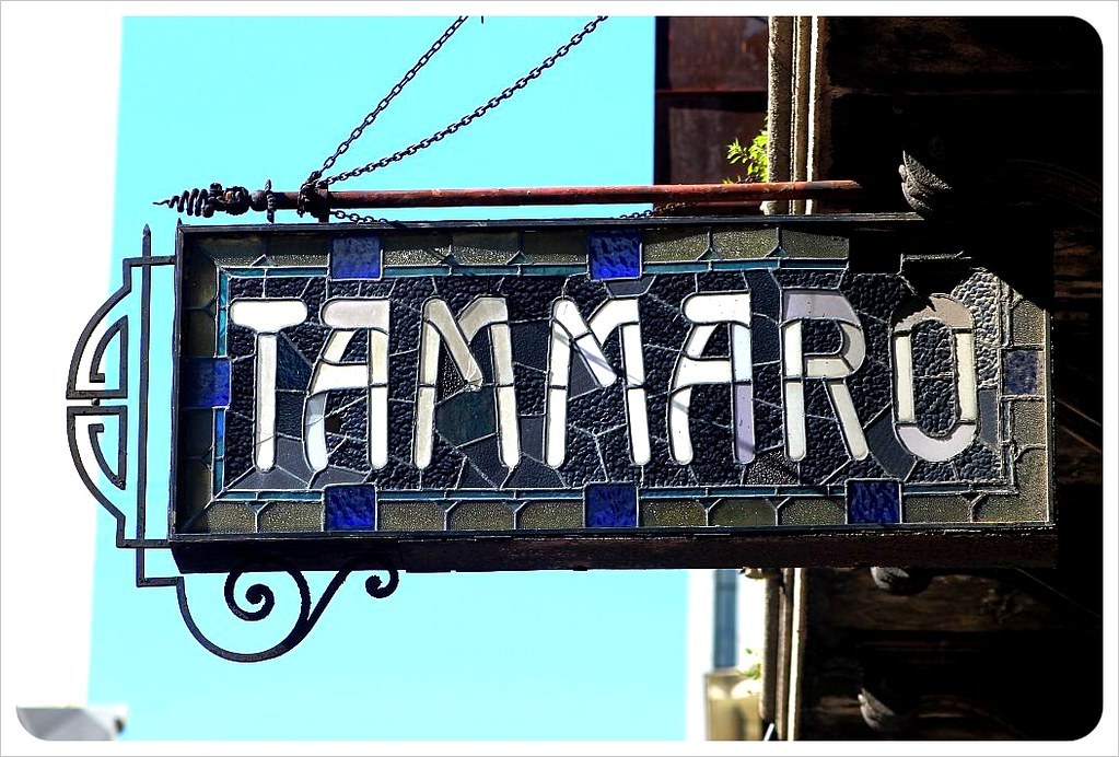 montevideo restaurant sign