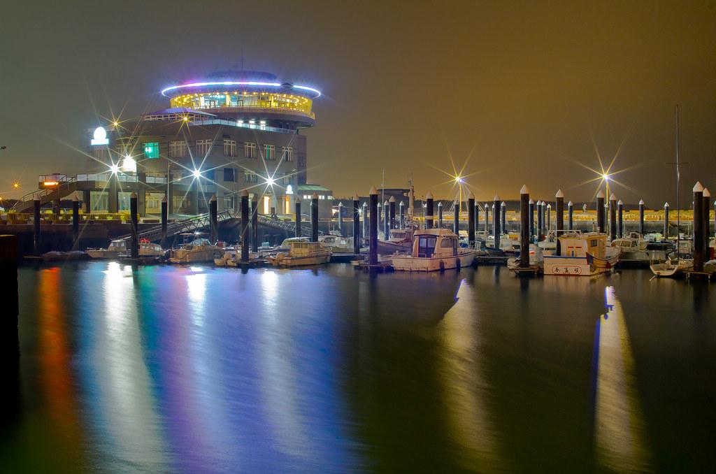 竹圍漁港~夜拍(單張)