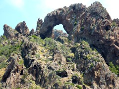 Scandola : arche naturelle après Cala di Ponte