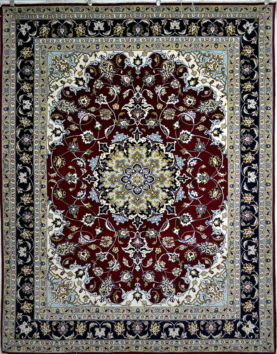 Tabriz Sherkat Persian Area Rug 5x7 1079 195x153