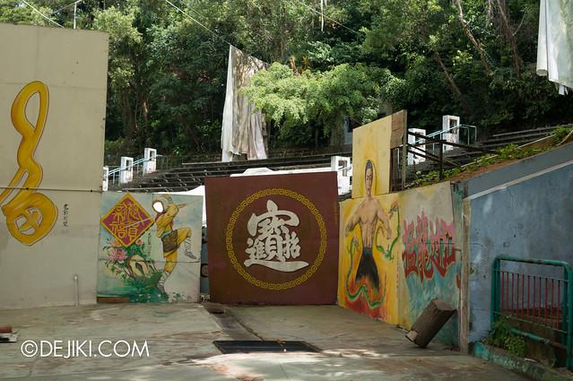 Haw Par Villa - abandoned amphitheatre 2