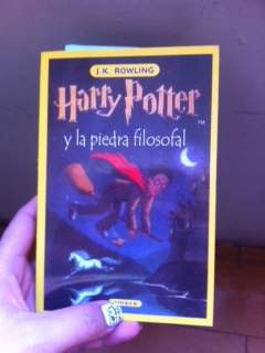 Harry Potter and the Philosopher's Stone in Spanish