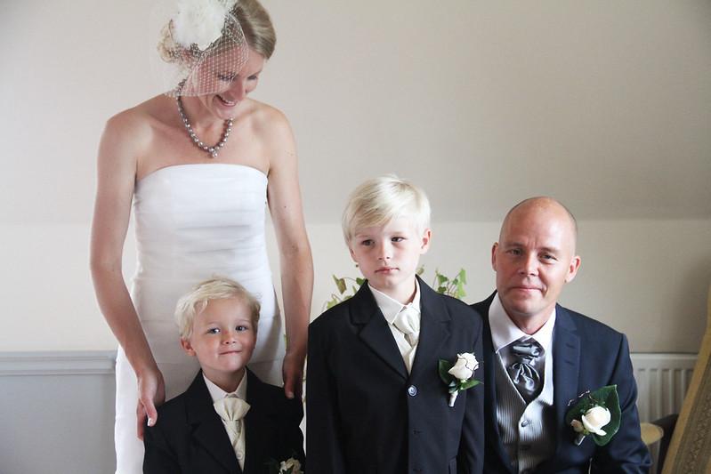 Anneli och Nicklas gifter sig.
