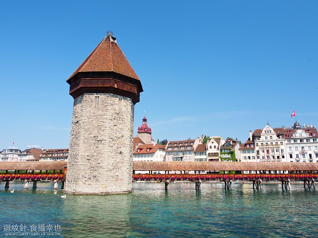 Kapellbrueke / Chapel Bridge 琉森 Lucerne / Luzern