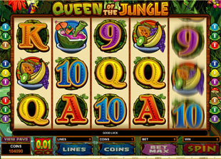 Queen of the Jungle Slot Machine