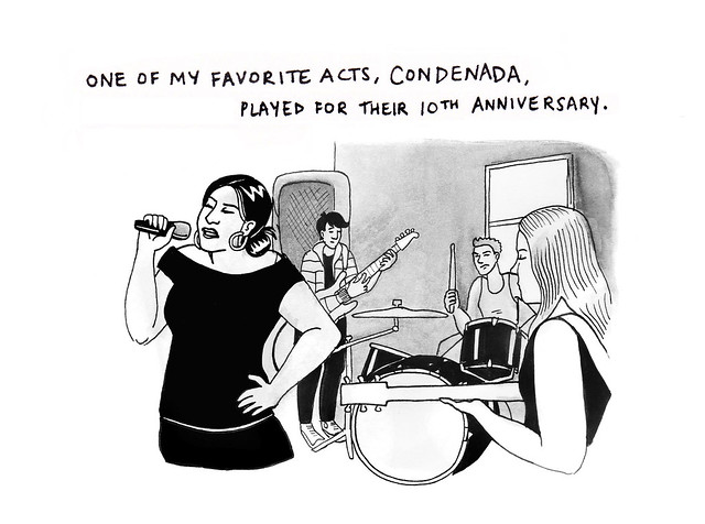 condenada played for their 10th anniversary