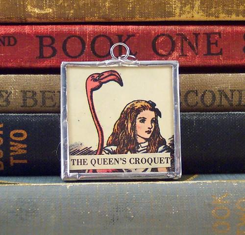 Alice Croquet Pendant