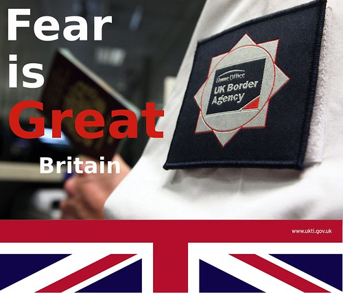 Fear is Great Britain by Teacher Dude's BBQ