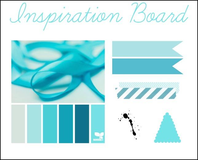 inspiration board, design grafico, nuovo template personalizzato per il blog