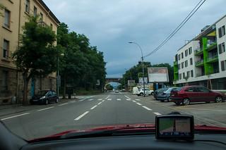 Départ de Metz, le ciel n'est pas très rassurant