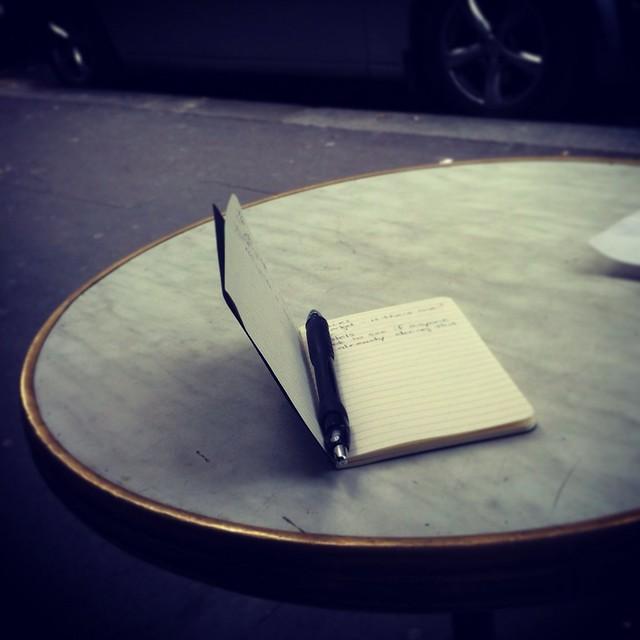 Café writing