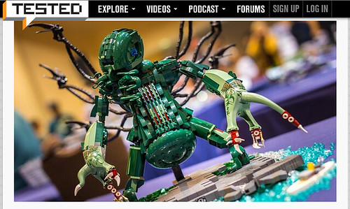 LEGO Cthulhu on Tested.com