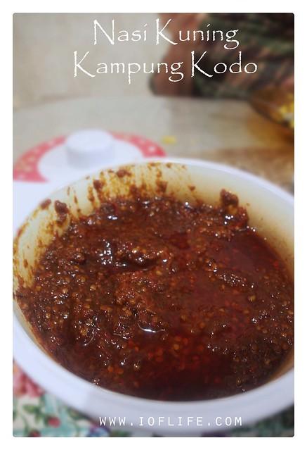 Sambal nasi kuning_kampung kodo