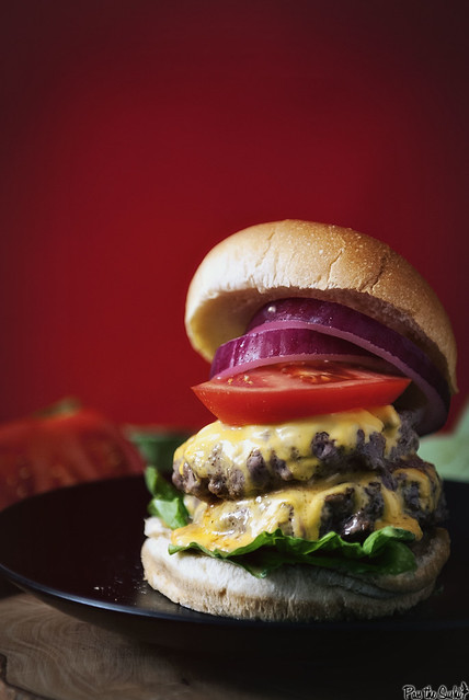 Burger Loving - Magazine cover