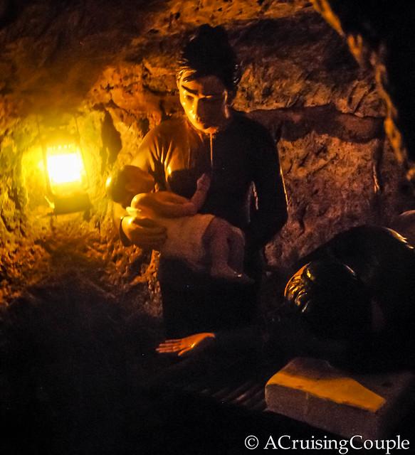 Vinh Moc Tunnel Vietnam Babies