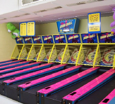 New Skeeball games at Holiday World
