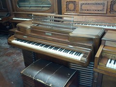 computer component(0.0), electronic device(0.0), fortepiano(0.0), harmonium(0.0), electric piano(0.0), organ(0.0), player piano(0.0), string instrument(0.0), celesta(1.0), piano(1.0), keyboard(1.0), spinet(1.0),