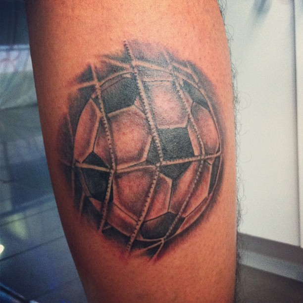 Ball Soccer Ta2 Tinta Tattoo Tatuaje Ink Skin Shadow Piel