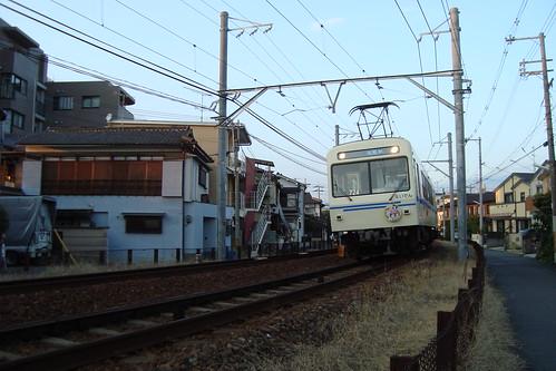 2013/09 叡山電車 きんいろモザイク ヘッドマーク車両 #04