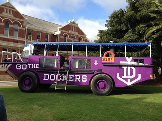 A Dockers bus/boat?