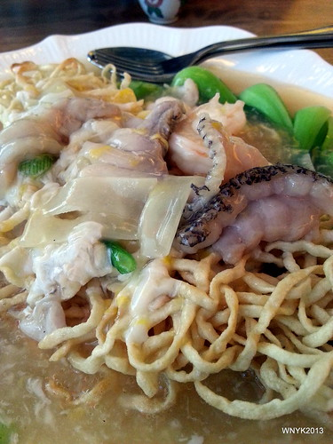 Fried Noodles in Gravy