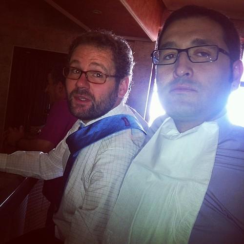 Desayunando antes de la boda #valverdedejucar #rafa y @Manuuu74