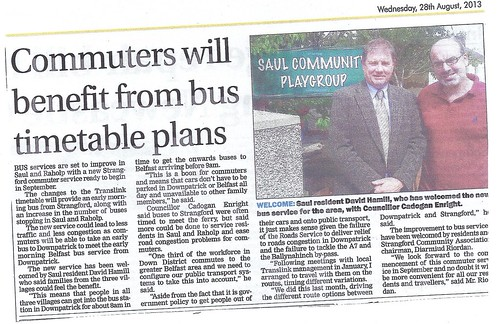 aug 28 2013 saul bus times by CadoganEnright