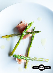Asparagus with Parmaham