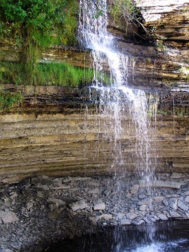 waterfall manitoulin highfalls