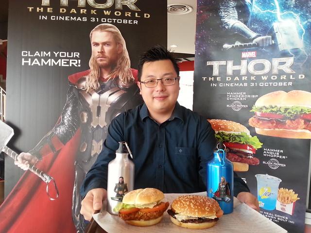 Keith Loh, Marketing Director Burger King