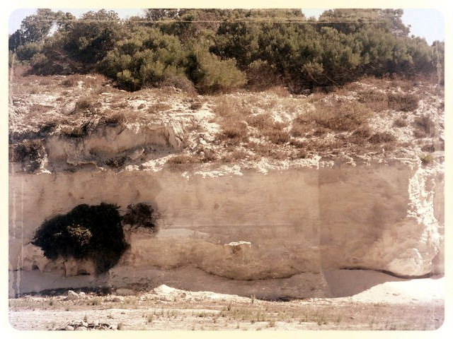 Lime quarry, Robben Island