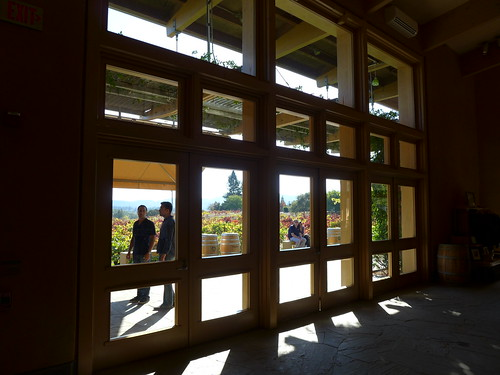 Ridge Vineyards Tasting Room entrance