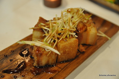 Hux Bistro - Pork Belly with Apple Slaw